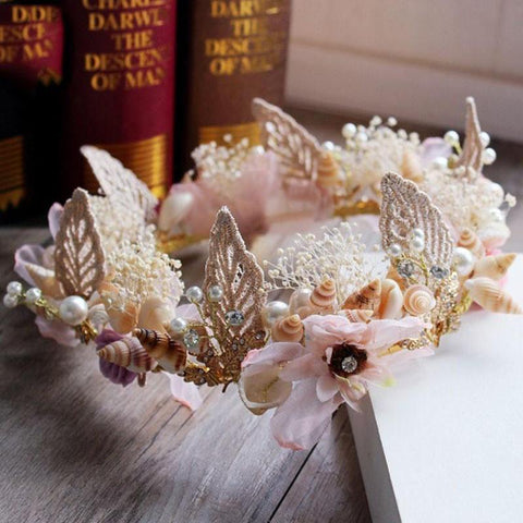 Floral Beach Crown