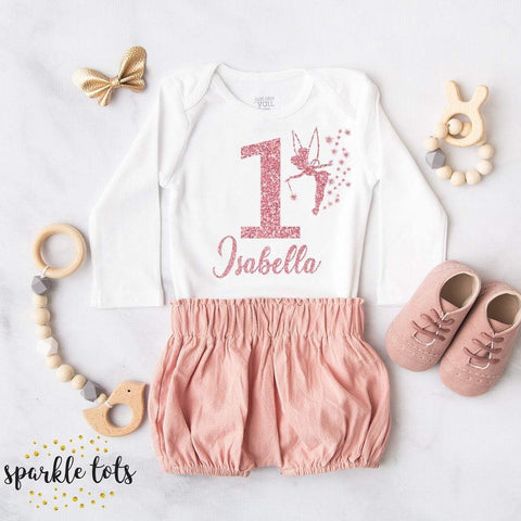 girls 1st birthday vest