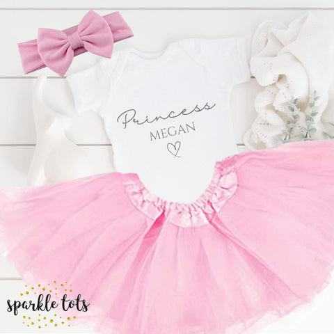 Personalised baby outfit