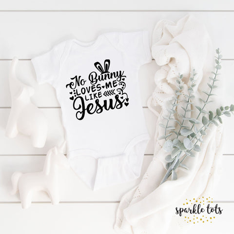 Easter Jesus baby grow