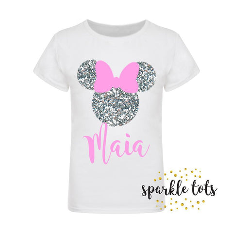 Personalised Minnie Top