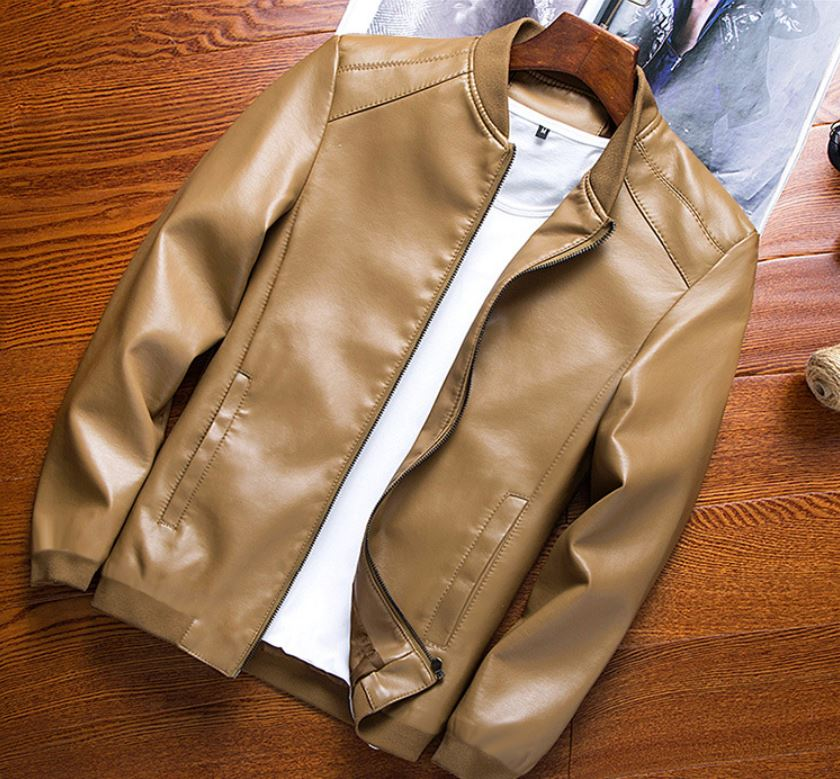 Casual Leather Jacket (4 colors)