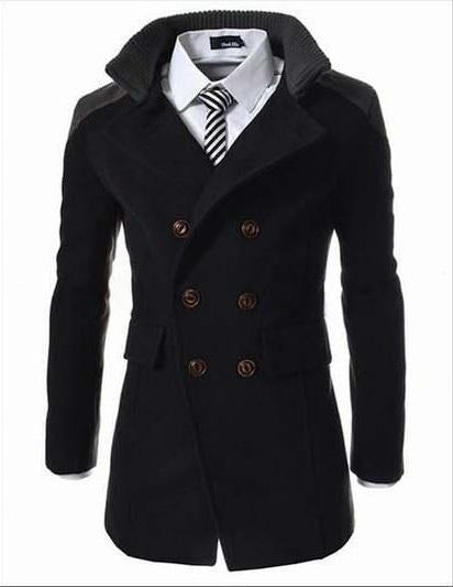 Long Wool Coat (3 colors)