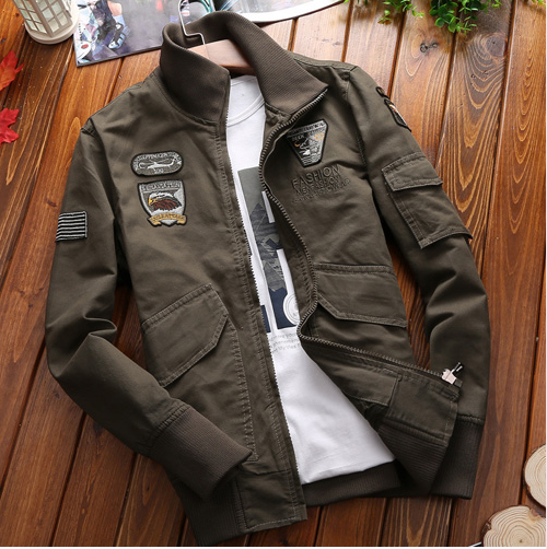 Military Pilot Bomber (3 colors)