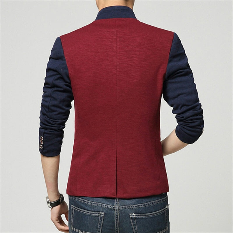 Fashion Patchwork Blazer (2 colors)