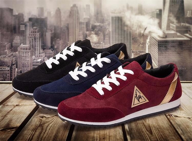 Casual Canvas Sneakers (3 colors)
