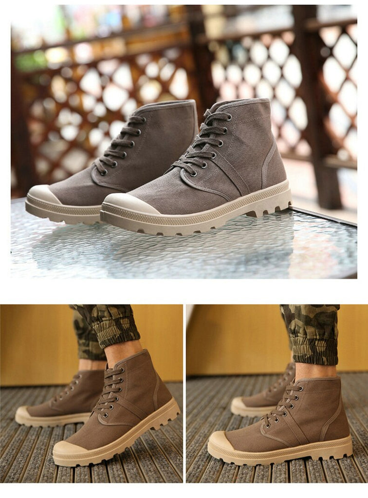 Military Ankle Boots (4 colors)