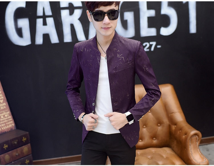 Print Fashion Blazer (3 colors)
