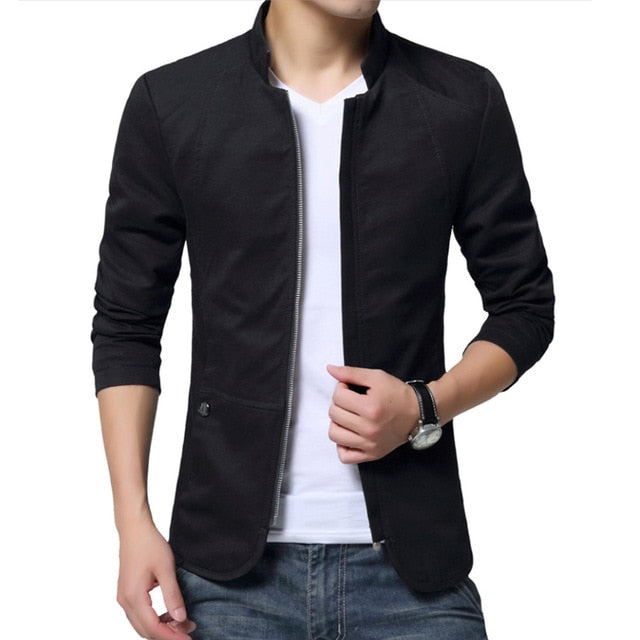 Slim Casual Jacket (4 colors)