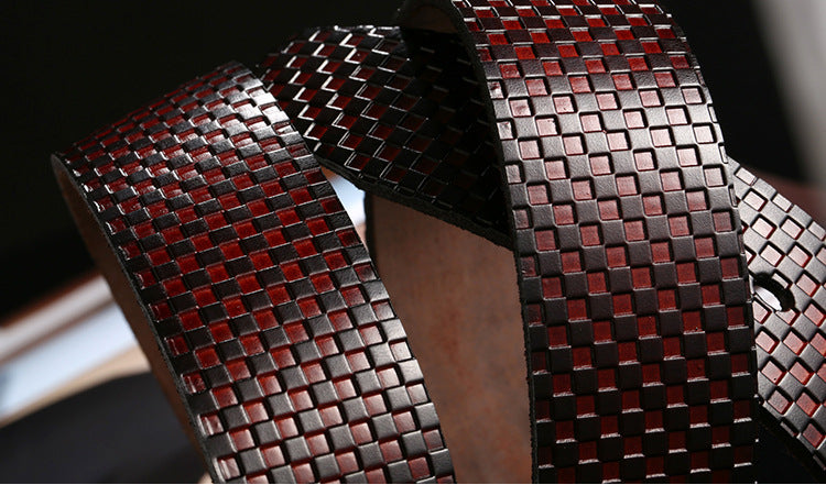 Design Leather Belt