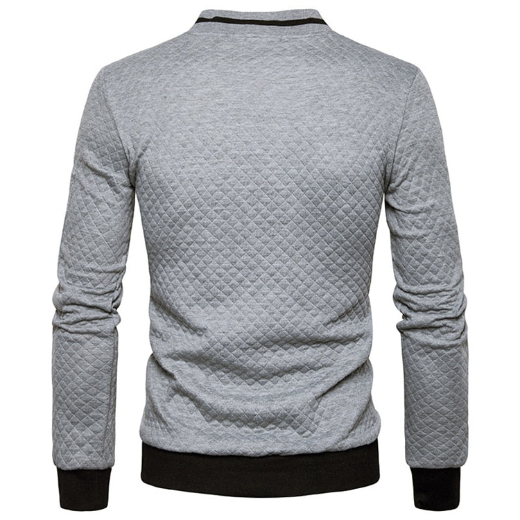 Casual Zipper Pullover (5 colors)