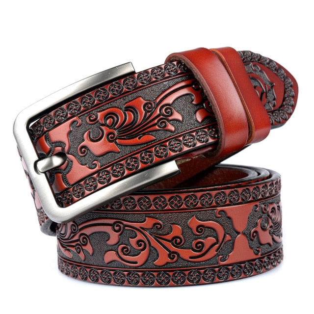Vintage Leather Belt (4 colors)