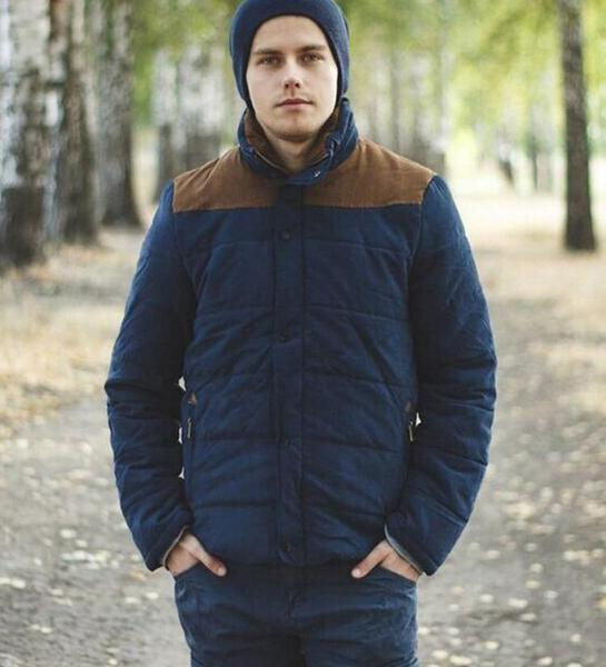 Quilted Down Jacket (2 Colors)