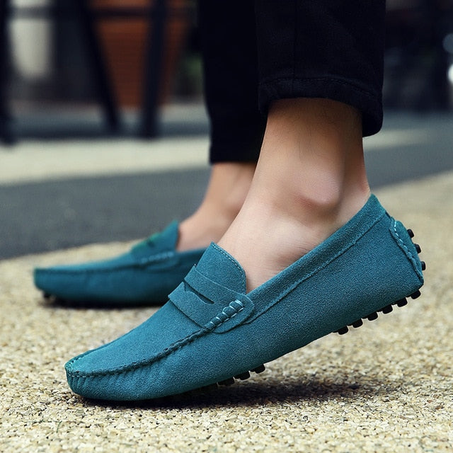 Comfortable Leather Moccasins (10 colors)