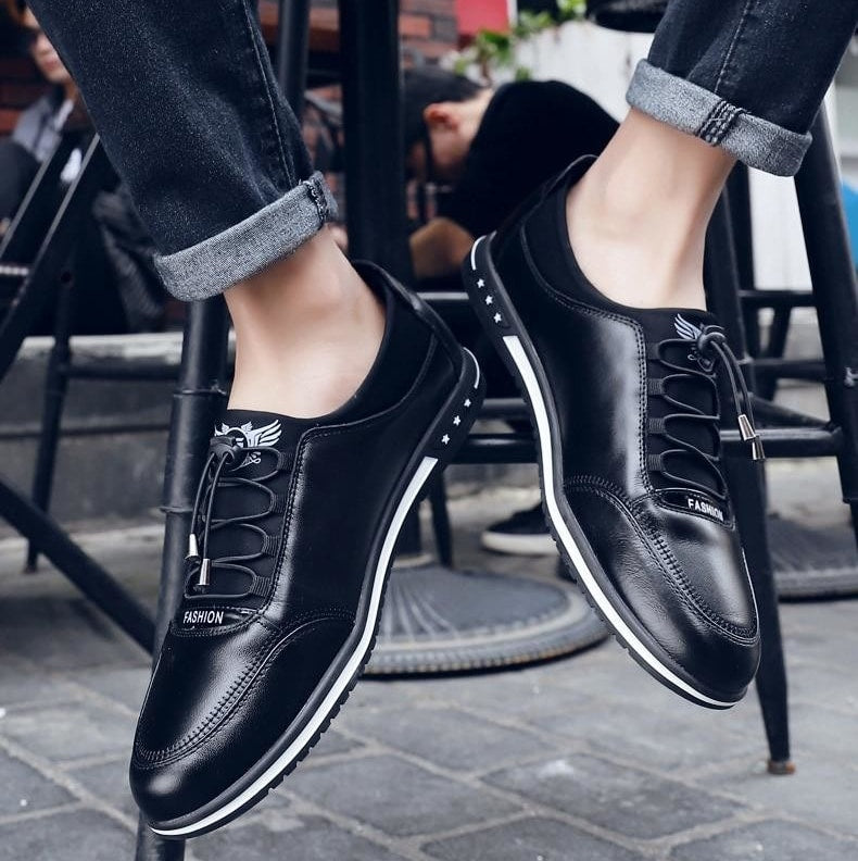 Leather Fashion Shoes (2 colors)