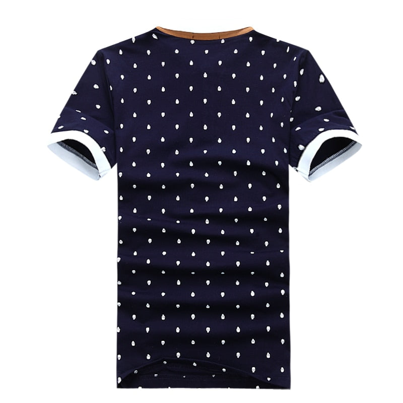 Skull Dots Polo (2 colors)