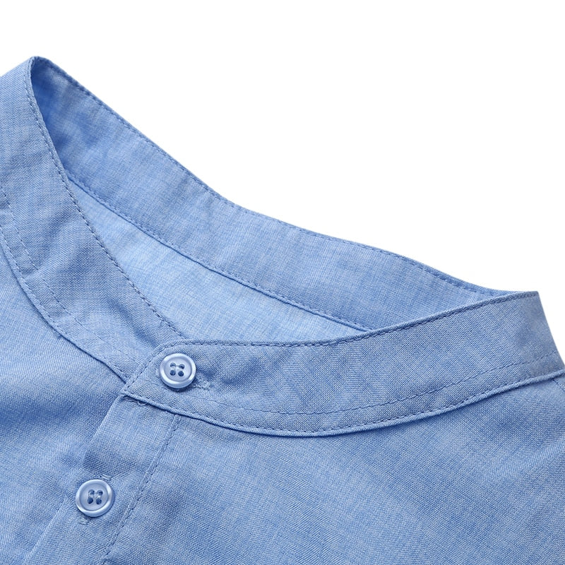 Cotton Linen Shirt (4 colors)