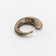 COMMA RING DELICATE MATTE BRASS