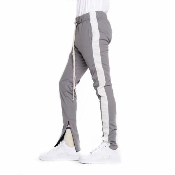 EPTM - Track Pants in Gray/White