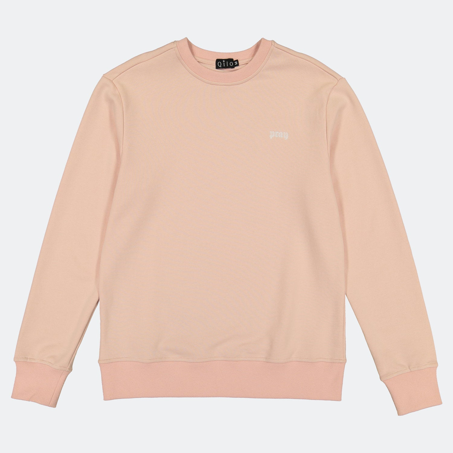 "Qilo - ""Pray"" Sweatshirt in Blush"