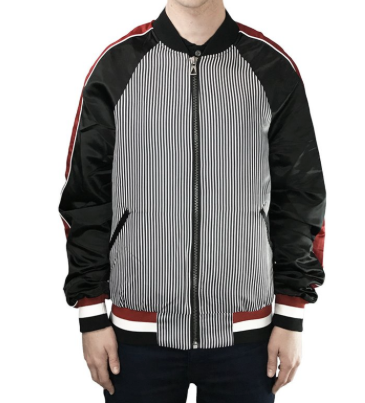 Eleven Paris - Jorian BIS Graphic Bomber Jacket