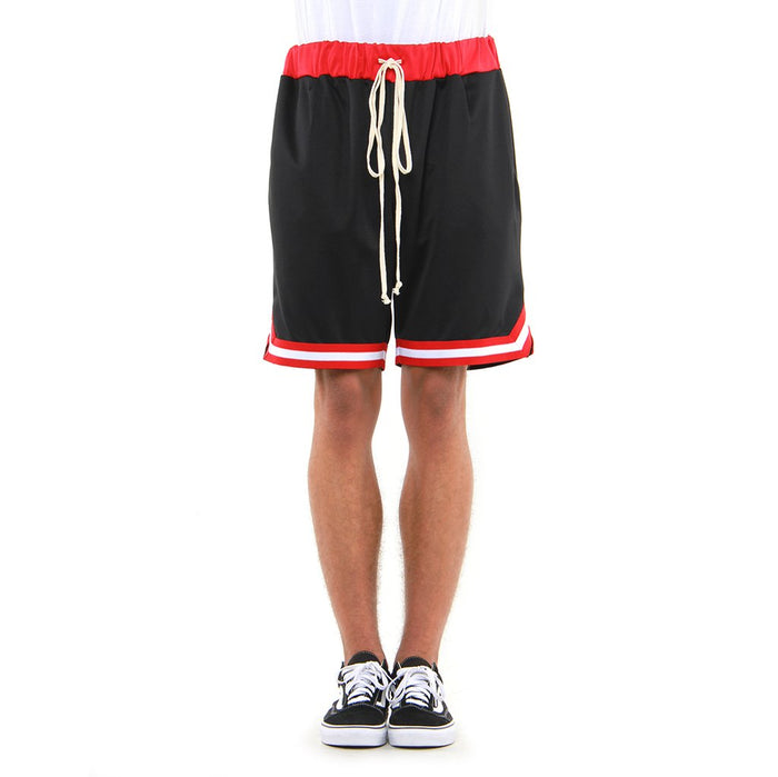 EPTM Black / Red basketball shorts