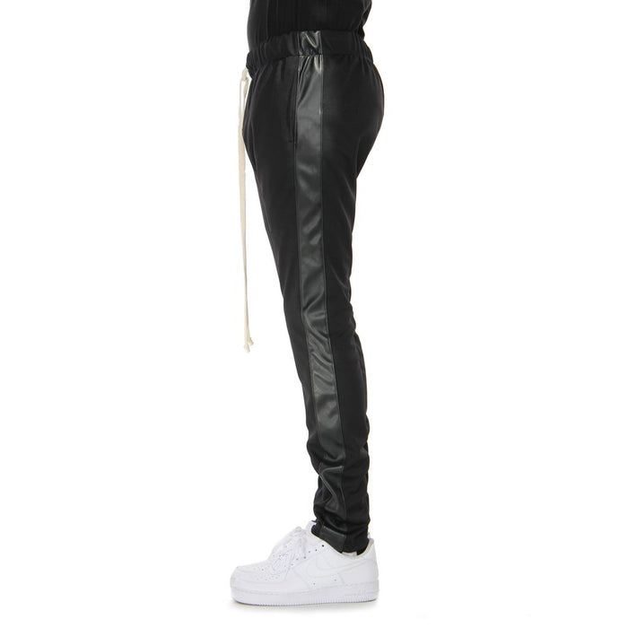 EPTM - Vegan Leather Track-Pants