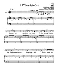 All There Is To Say | newmusicaltheatre.com | Sheet Music