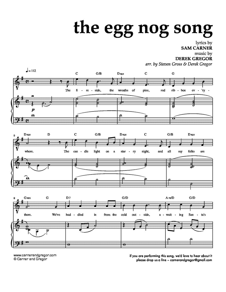The Egg Nog Song