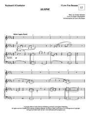 Alone | newmusicaltheatre.com | Sheet Music