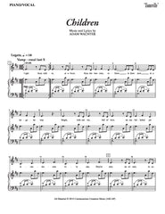 Children | newmusicaltheatre.com | Sheet Music