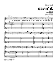 Savin' It (Baritone)