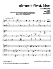 Almost First Kiss | newmusicaltheatre.com | Sheet Music