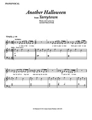 Another Halloween | newmusicaltheatre.com | Sheet Music