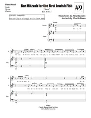Bar Mitzvah for the First Jewish Fish | newmusicaltheatre.com | Sheet Music