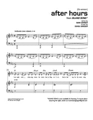 After Hours (Baritone Version)