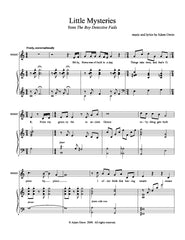 Goodbye to Boston | newmusicaltheatre.com | Sheet Music