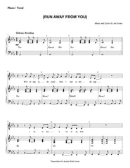 (Run Away From You) | newmusicaltheatre.com | Sheet Music