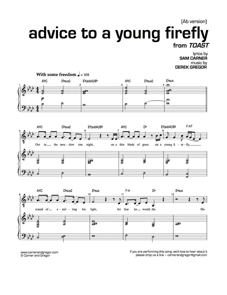 Advice to a Young Firefly