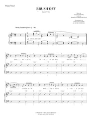 Brush Off | newmusicaltheatre.com | Sheet Music