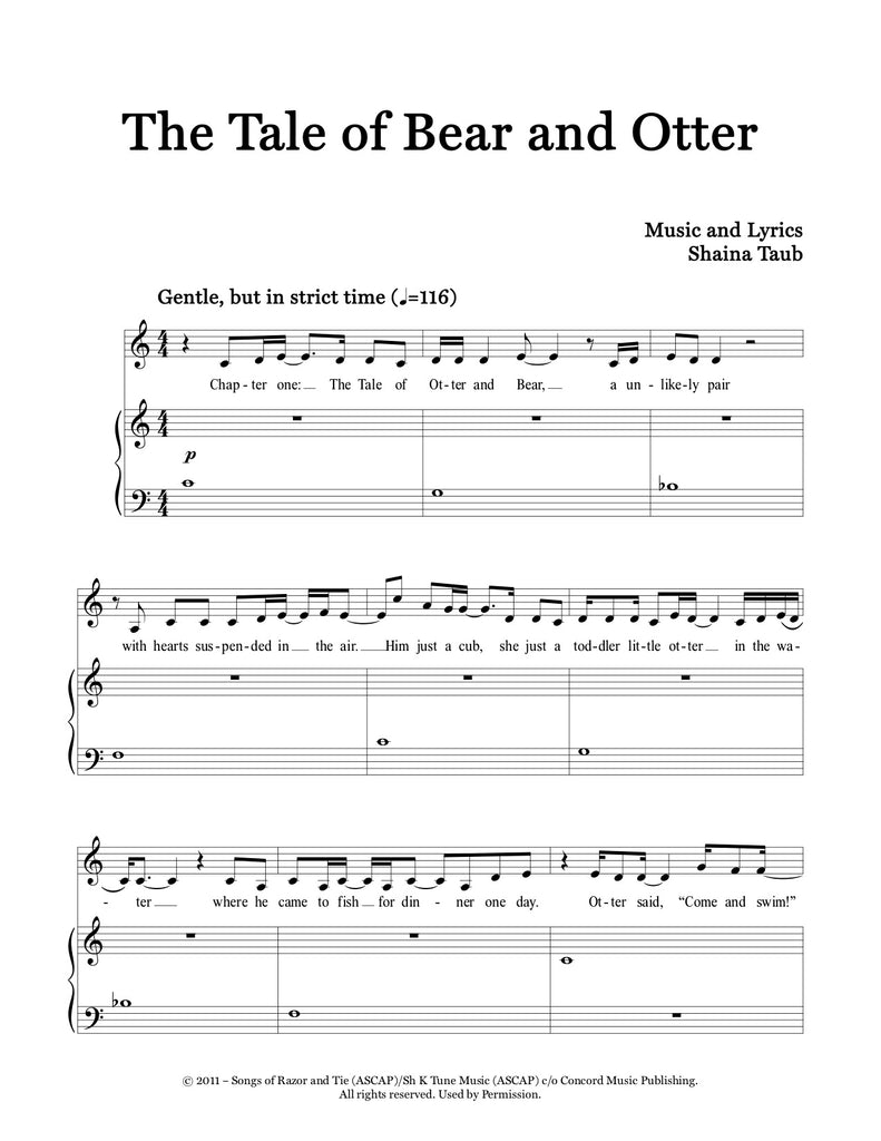 The Tale of Bear and Otter