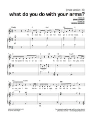 What Do You Do With Your Arms?