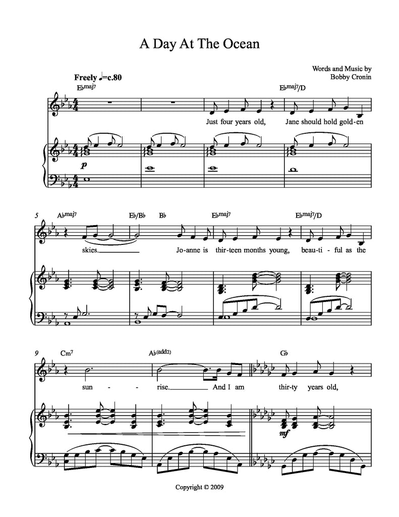 A Couple of Regular Guys | newmusicaltheatre.com | Sheet Music