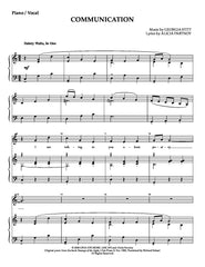 Georgia Stitt | Communication | newmusicaltheatre.com | Sheet Music