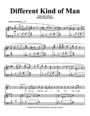 Different Kind of Man | newmusicaltheatre.com | Sheet Music