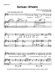 Cautiously Optimistic | newmusicaltheatre.com | Sheet Music