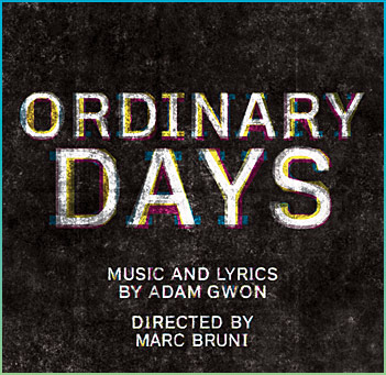 Ordinary Days | Don't Wanna be Here | newmusicaltheatre.com | Sheet Music
