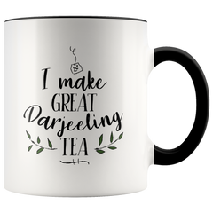 """Darjeeling Tea"" Sam Brown mug"