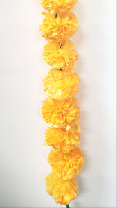 Artificial Marigold Flower Strings for Sale