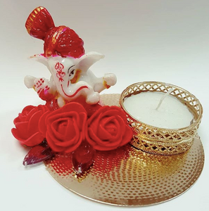 Ganesh Rose Tealight